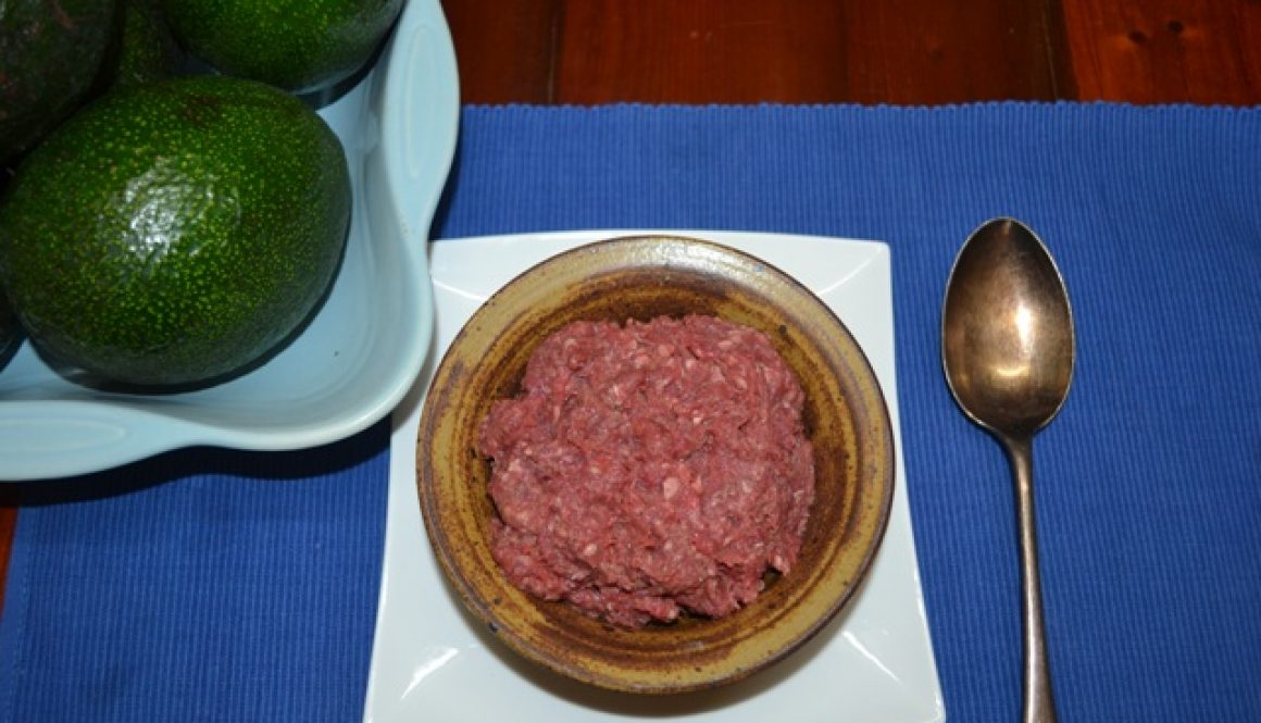 Beef Iron Man Mince (Beef with liver)