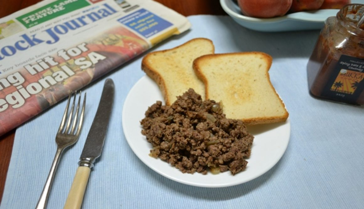 Sweet and Spiced Breakfast Mince recipe | Border Park Organics