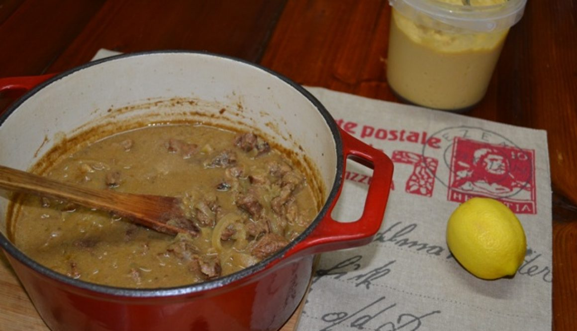 Recipe Creamy Beef Stew with Hommus | Border Park Organics