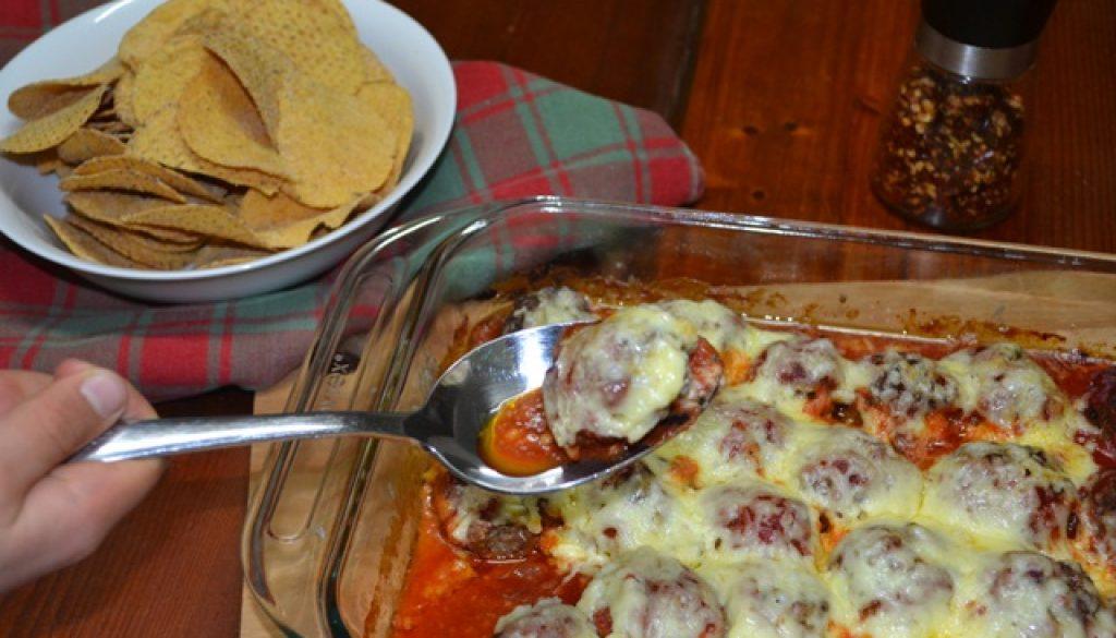 Recipe - Cheesy Mexican Meatballs (Grain-free, Egg-free)