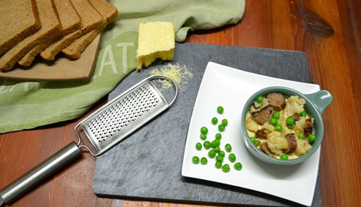 Recipe - Creamy Sausage and Cauliflower Soup