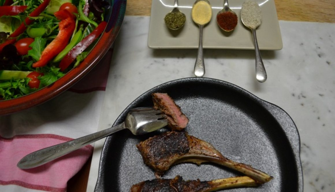 Recipe - Israeli Spiced Lamb Cutlets | Border Park Organics