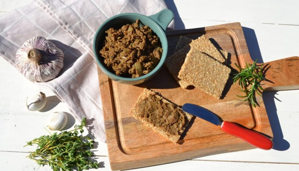 Recipe - Herbed Bacon and Beef Liver Pate | Border Park Organics