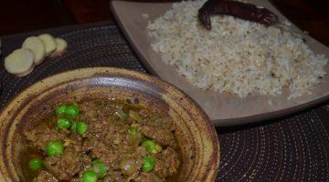 Recipe | Mutton Keema Matar | Border Park Organics
