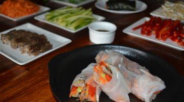 Recipe - Vietnamese Rice Paper Rolls (featuring leftover beef) | Border Park Organics