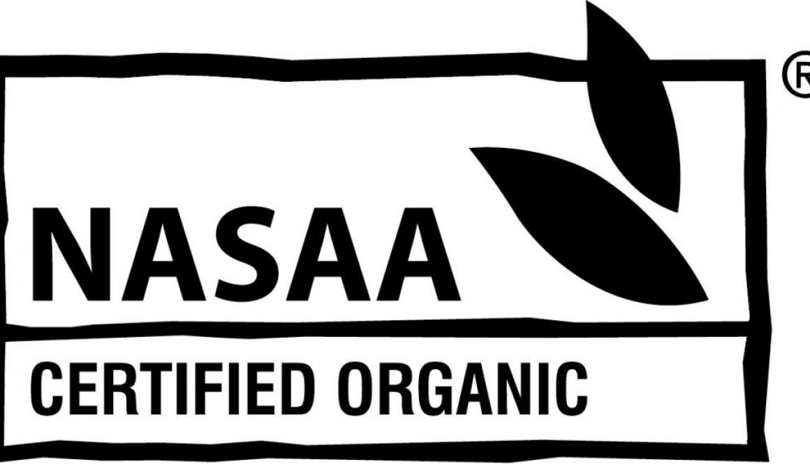 NASAA Certified Organic Logo | Border Park Organics