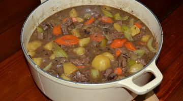 Recipe | Rustic Beef Stew | Border Park Organics