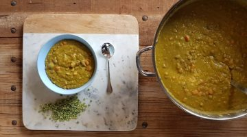 Recipe - Additive-free Split Pea and Corned Beef Soup (plus some handy tips)